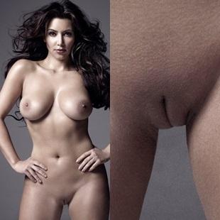 Kim Kardashian Nude Pussy Outtake Photos Released