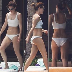 Emma Watson Trashy Ass Bikini Pics