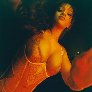 Rihanna Tits And Ass In Lingerie For Valentine's Day