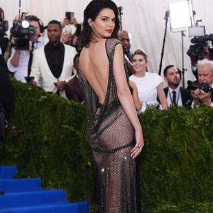 Kendall Jenner Puts Her Ass On Display At The Met Gala