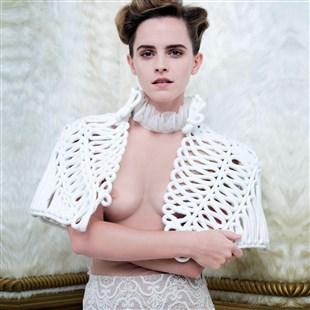 Emma Watson Flaunts Her Tits In Vanity Fair