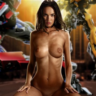 """Megan Fox Nude For A New """"Transformers"""" Movie"""