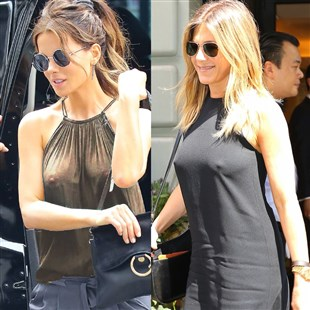 Kate Beckinsale And Jennifer Aniston Go Full Nipple