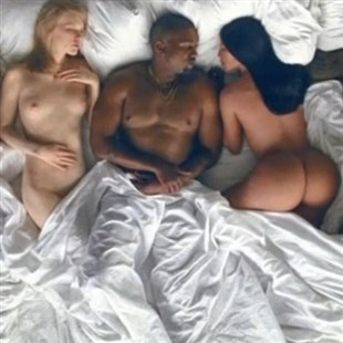 """Kanye West """"Famous"""" Nude Celebrities Music Video"""