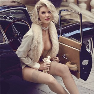 Taylor Swift Leaked Nearly Nude Outtake