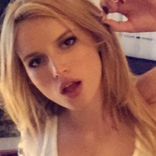 Bella Thorne Shows Her Nips Once Again In A See Thru Top