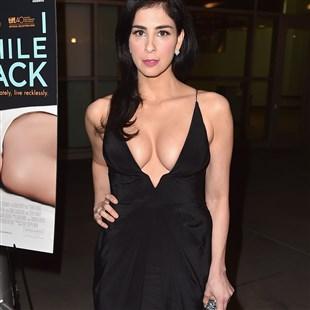 Sarah Silverman Flaunts Her Big Nasty Jew Tits
