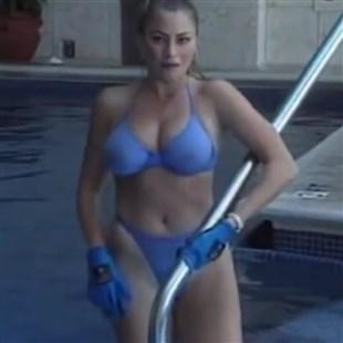 Sofia Vergara Pool Bikini Boobie Bounce