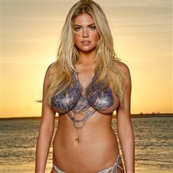 SI Accidentally Posts A Pic Of Kate Upton's Vagina