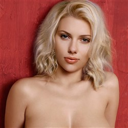 Scarlett Johansson Takes Her Last X-Rated Photo