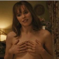 Rachel McAdams Hand Bra GIF