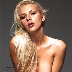 Scarlett Johansson Poses For 3 Nude Photos