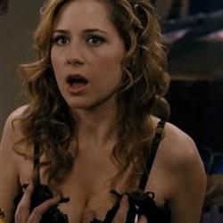 Jenna Fischer Getting Her Boobs Grabbed