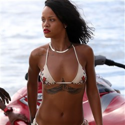 Rihanna Barbados Bikini Photo Shoot