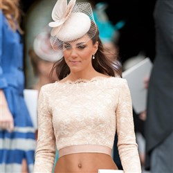 Kate Middleton Pulls Down Her Panties At Royal Party