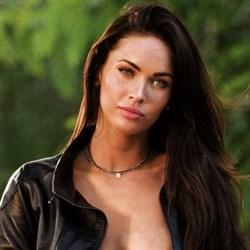 Megan Fox Nip Slip In Leather Jacket