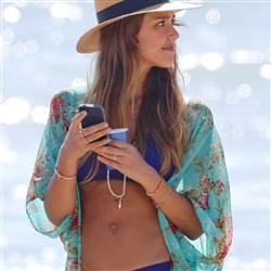 Jessica Alba Bikini Beach Glory Hole Pics