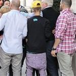 Justin Bieber Poops His Pants