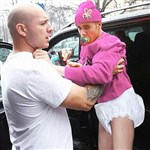 Justin Bieber Gets Put In His Car Seat