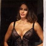 Sofia Vergara Caught Flaunting Her Cleavage