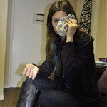 Victoria Justice Has A Smart Mouth, Gets A Black Eye