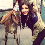 Victoria Justice Caught Abusing A Goat