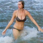 Katy Perry Xmas Bikini Cleavage Pics