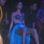 Selena Gomez Teaches Girls How To Sit Like A Whore