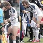 David Beckham Shows Off His Junk