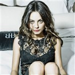 Mila Kunis In Black Lace Pics