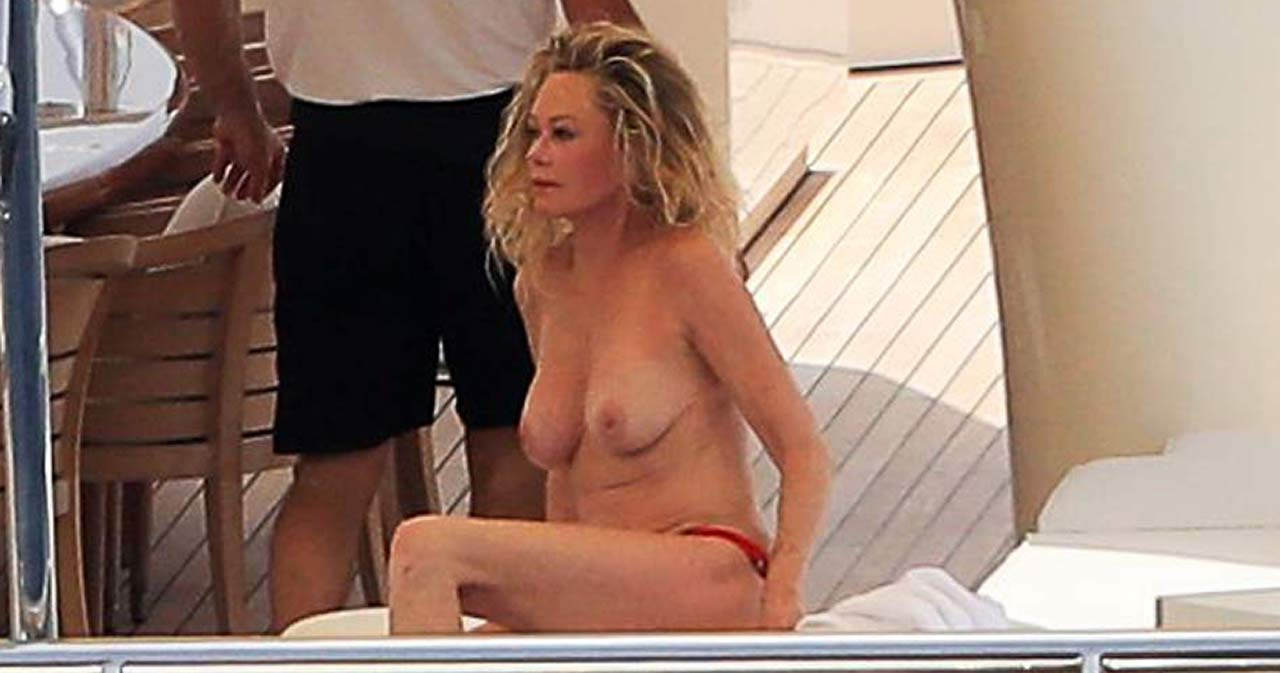 Melanie Griffith Topless Massage on the Boat