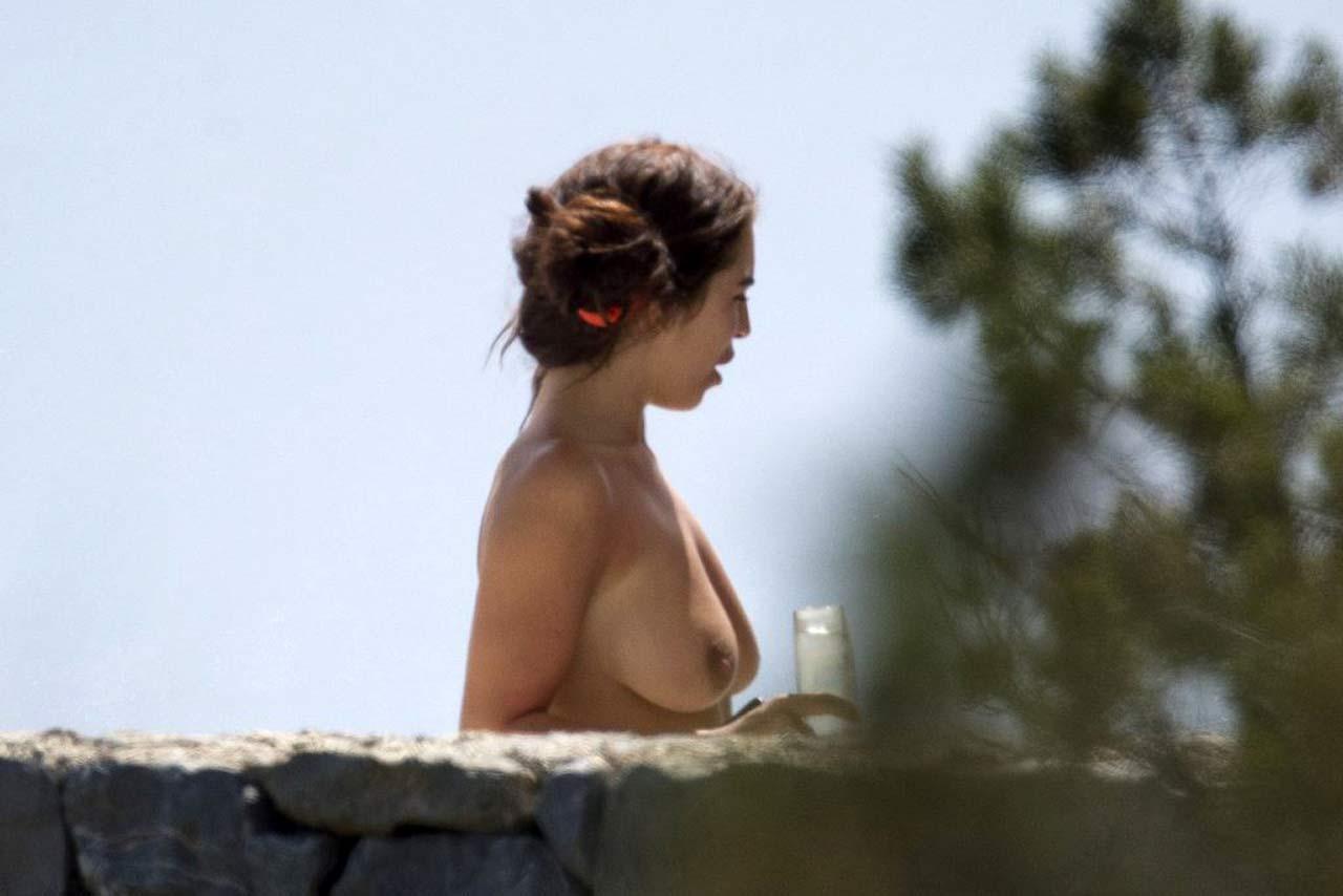 Katie Salmon Nude Boobs On Paparazzi Pics