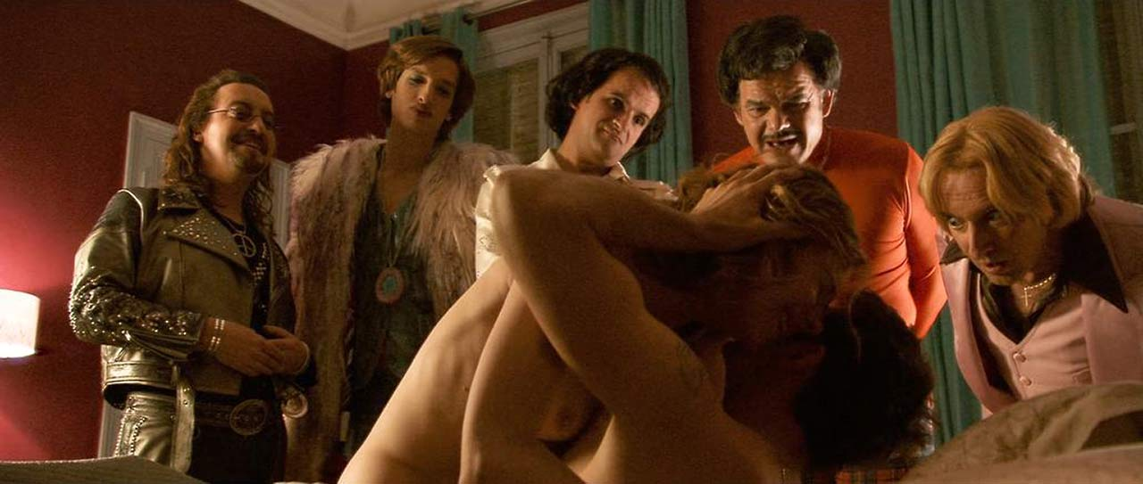 Julie Depardieu Nude Sex Scene from 'Poltergay'