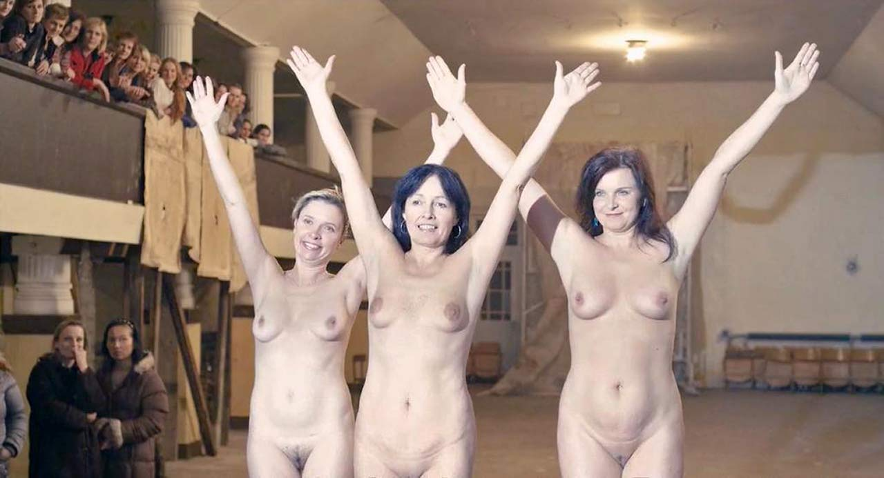 Olivie Zizkova Nude Scene from 'Flower Buds'