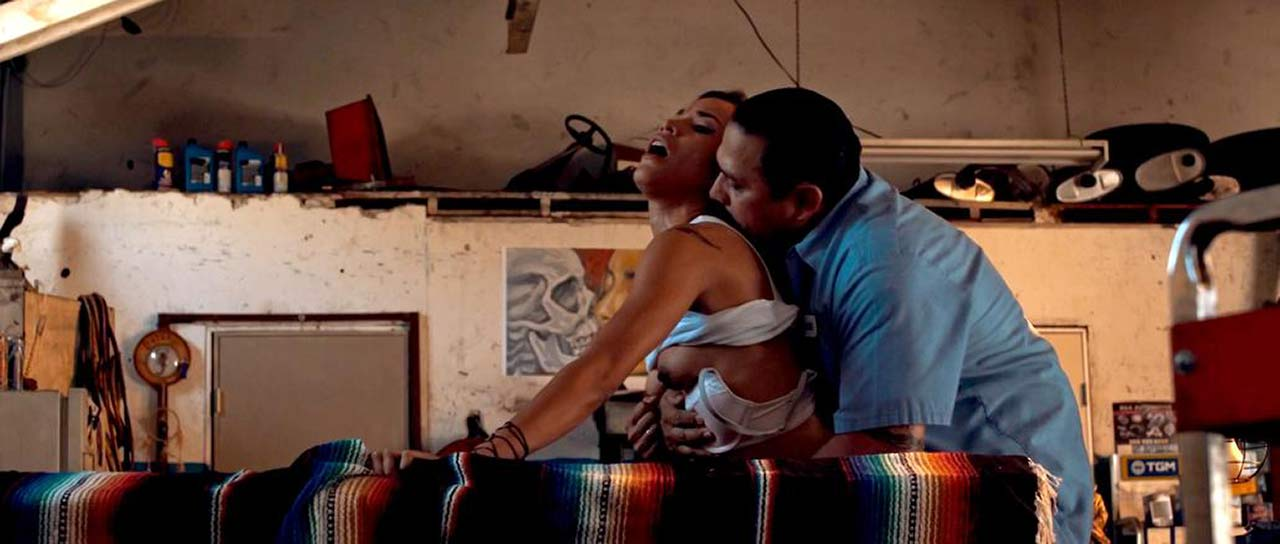 Danay Garcia Topless Sex Scene from 'Avenge the Crows'
