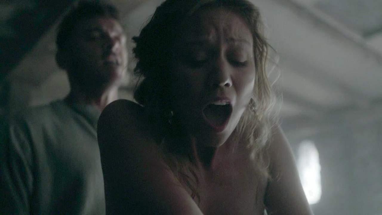 Tamaryn Payne Sex Scene from 'Vikings'