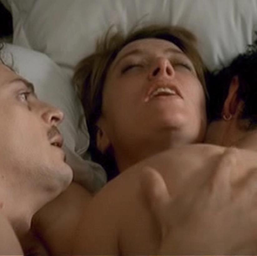 Valeria Bruni Tedeschi Threesome Sex In Time To Leave Movie