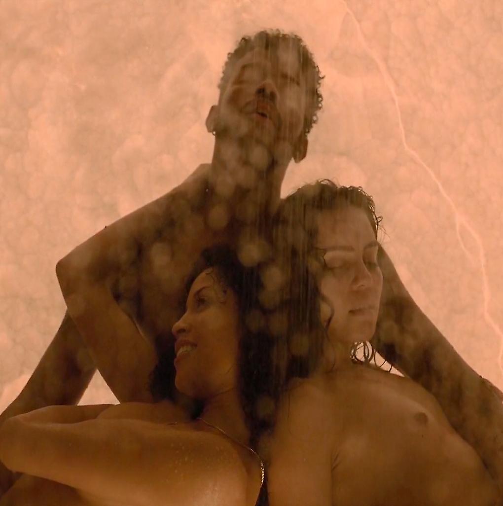 Andrea Londo And Lex Scott Davis Nude Threesome Sex In Super Fly Movie