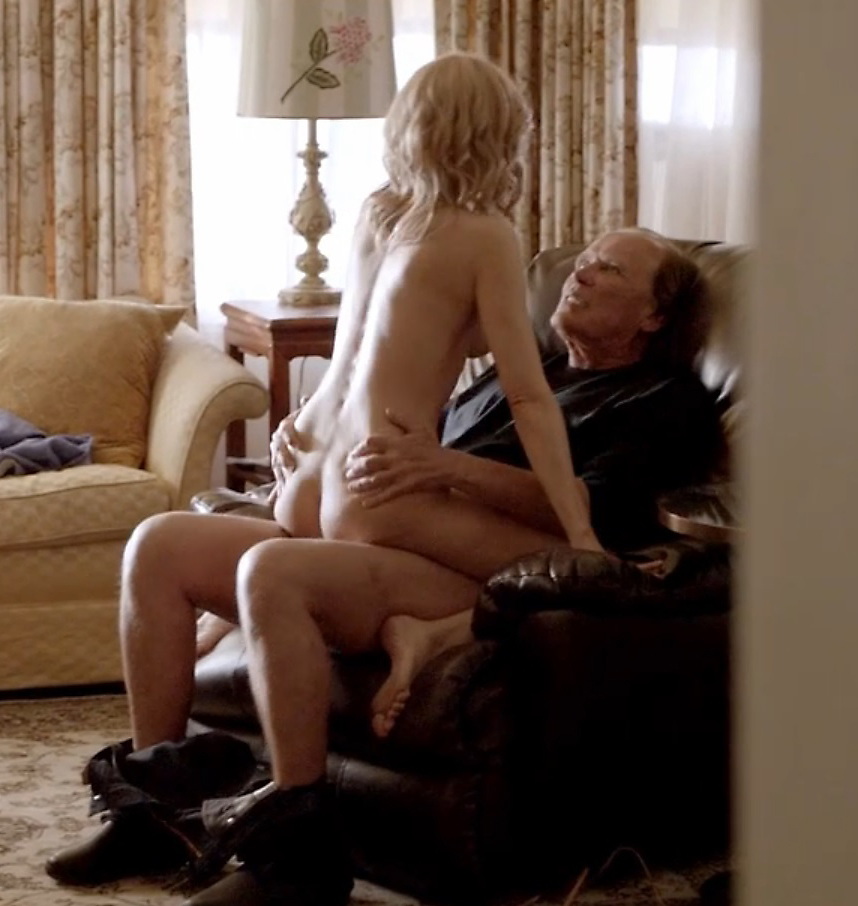 Kim Dickens Sex In A Guy`s Lap From Sons Of Anarchy Series