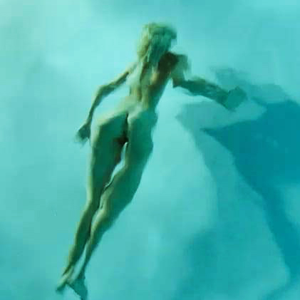 Isabel Lucas Nude In The Swimming Pool From 'Knight of Cups' Movie