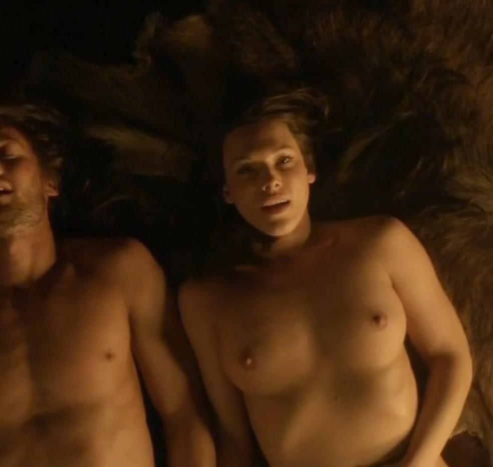 Erin Cummings Hard Sex Scene In Spartacus Blood And Sand Series