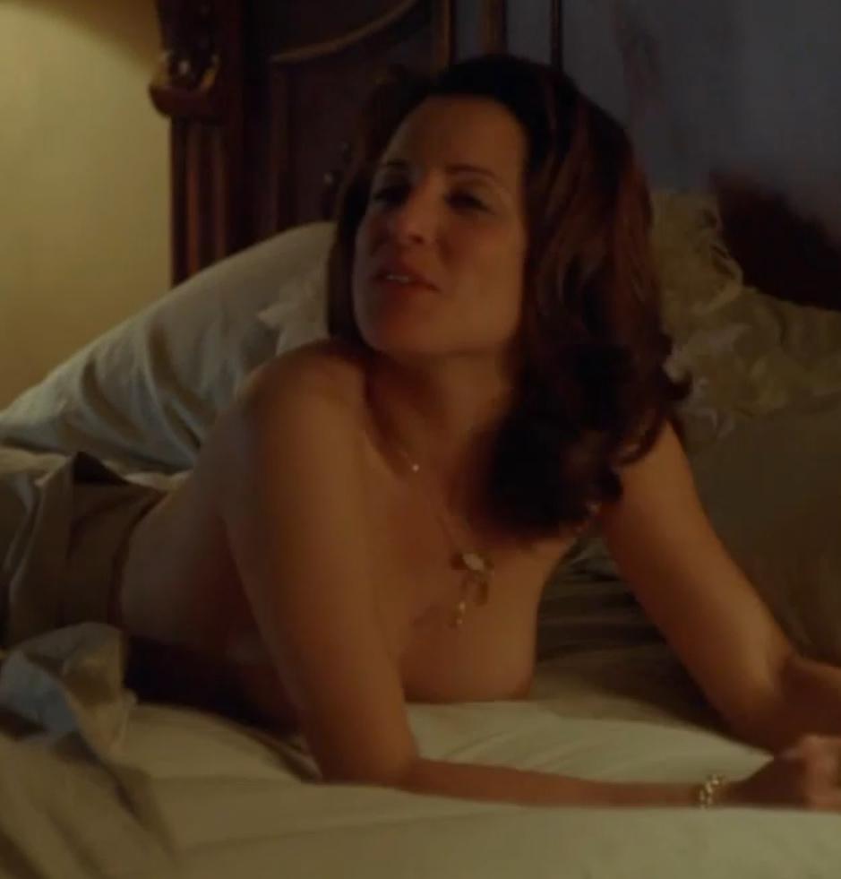 Alanna Ubach Nude Boobs In Hung Movie