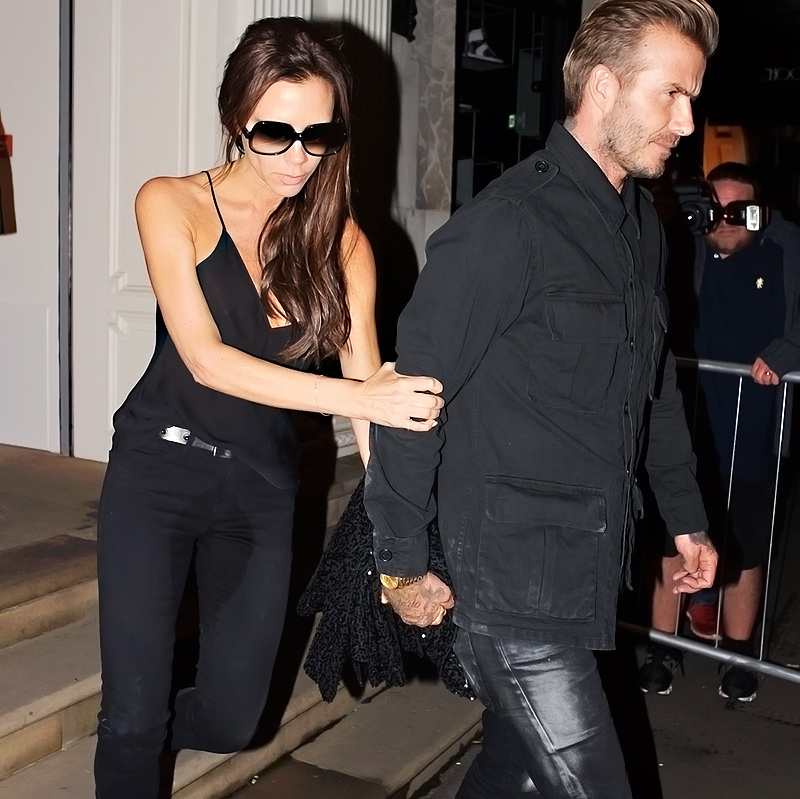 Victoria Beckham Peed In Her Jeans!
