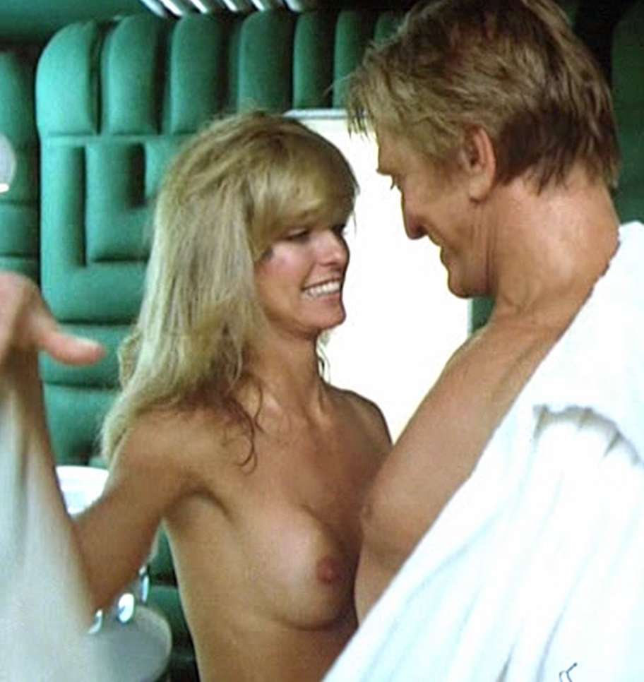 Farrah Fawcett Nude Scene In Saturn 3 Movie