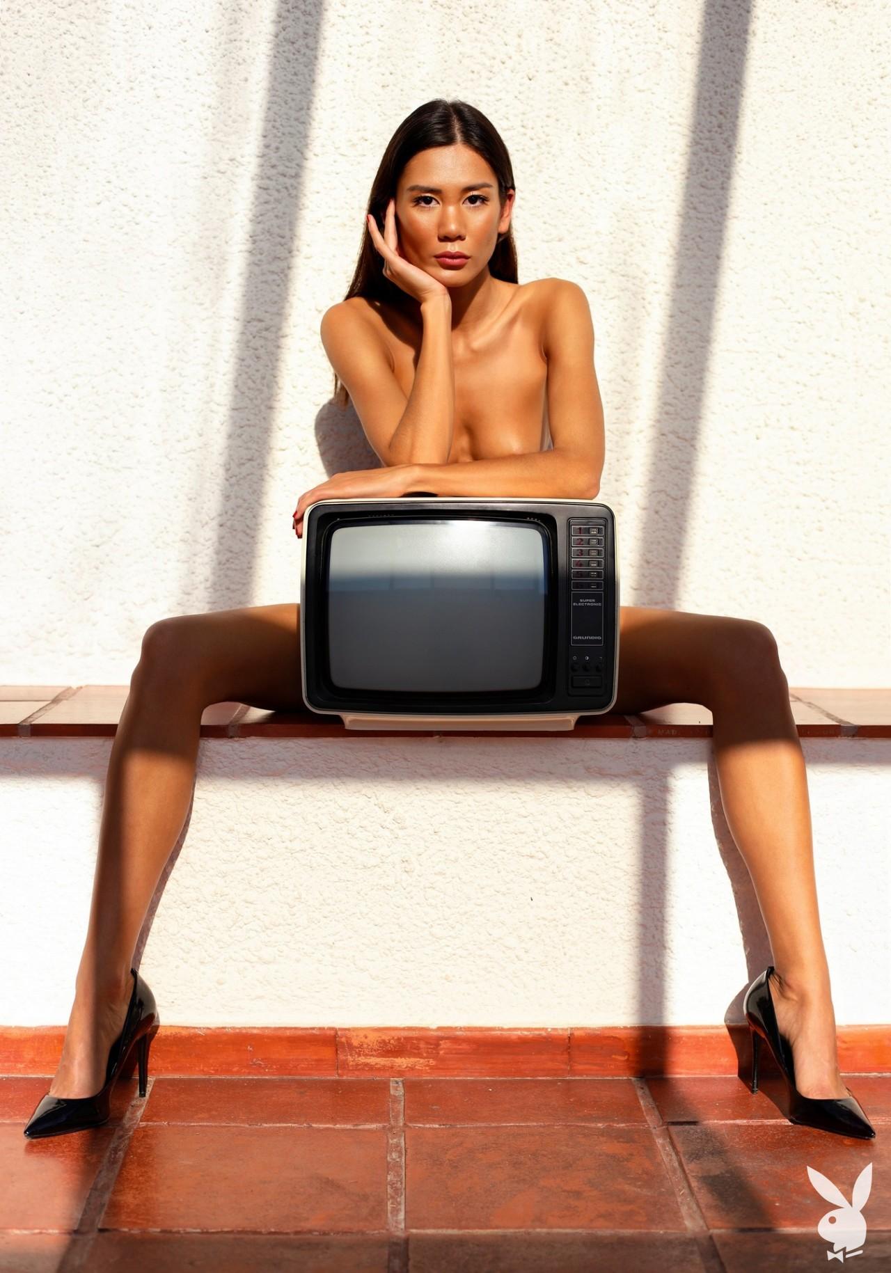 Cledia Fortin For Playboy International