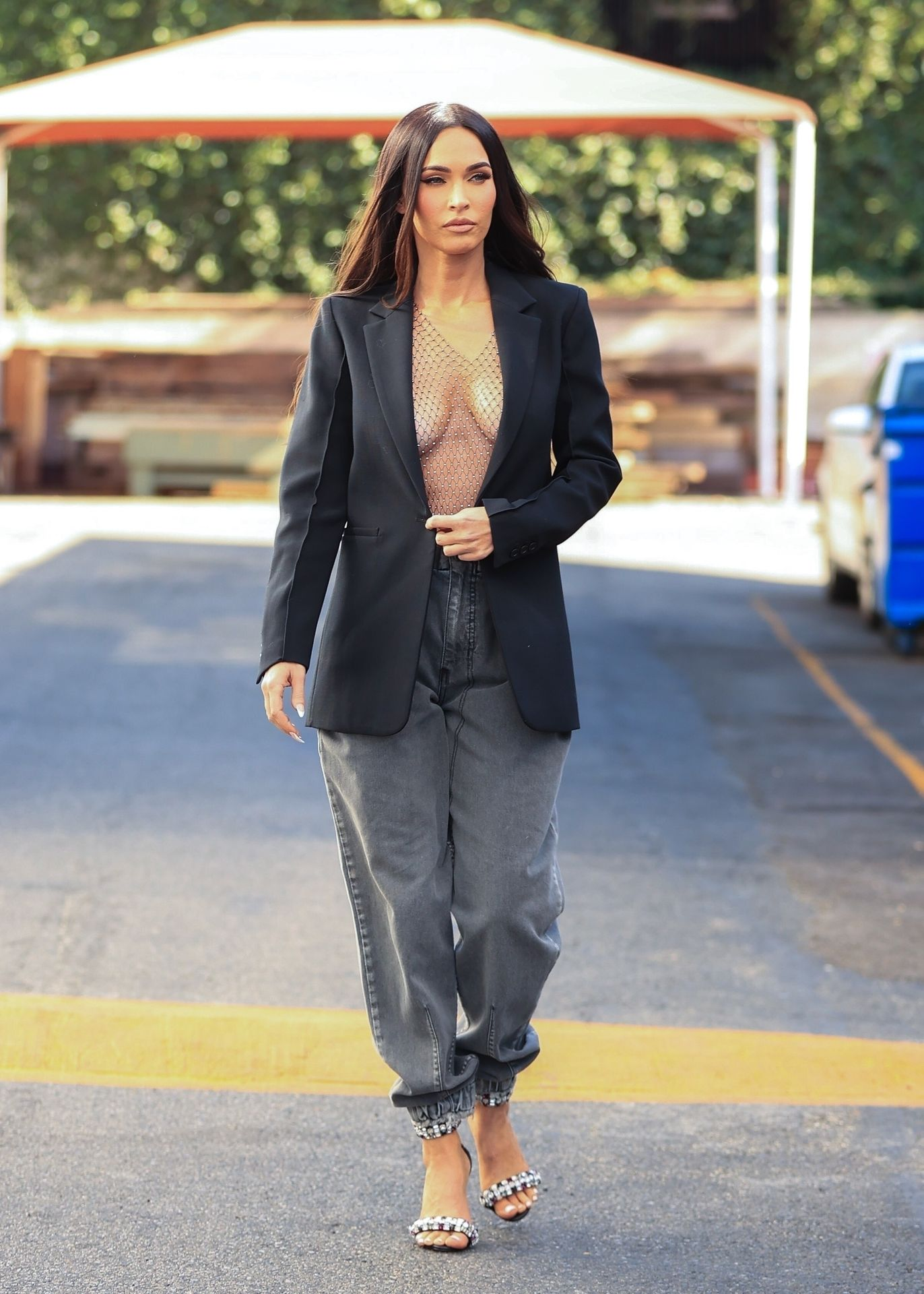 Megan Fox Leaves Little to Imagination While Leaving a Photoshoot in LA (19 Photos)