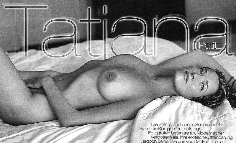 Tatjana Patitz topless