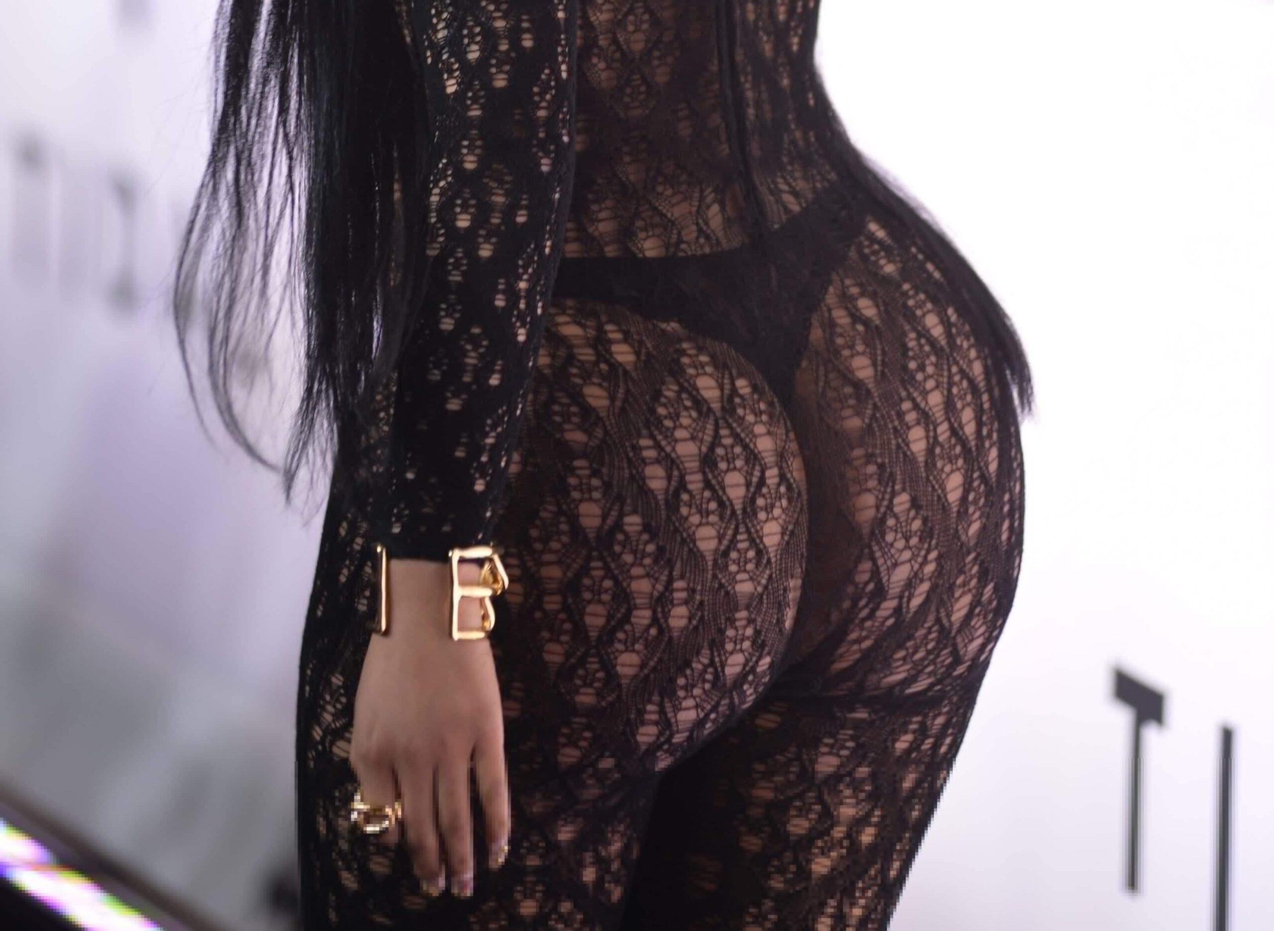 Nicki Minaj's Booty Going Crazy at Tidal