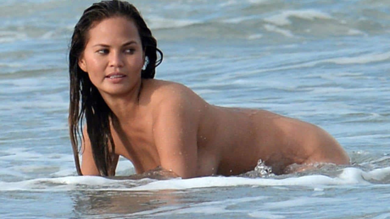 Chrissy Teigen Nude Compilation Uncensored!