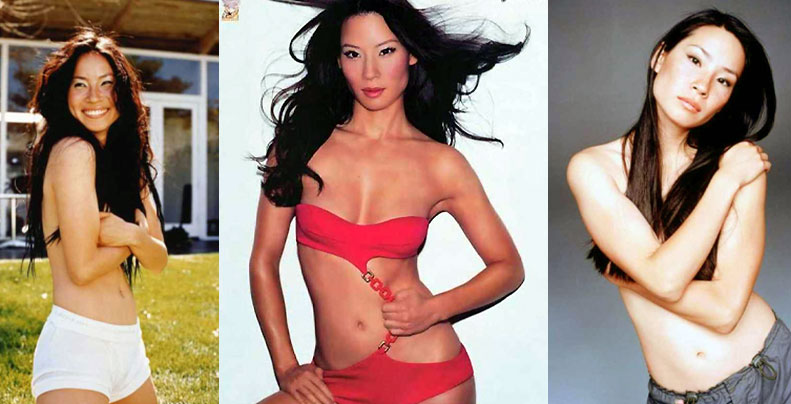 Lucy Liu Sexy and Hot Feet Photo Collection